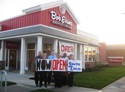 Bob Evans Restaurant in South Euclid is now open!